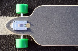 Atom Longboard drop through 07